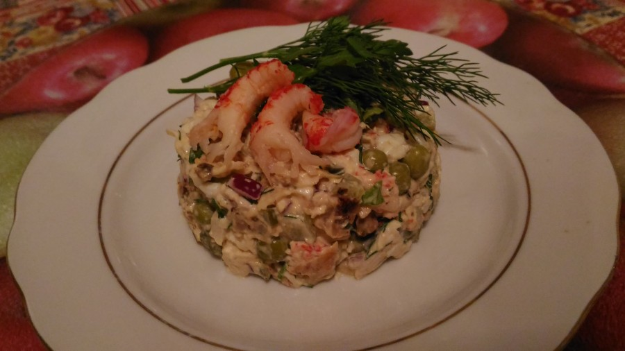 Оливье рецепт порции