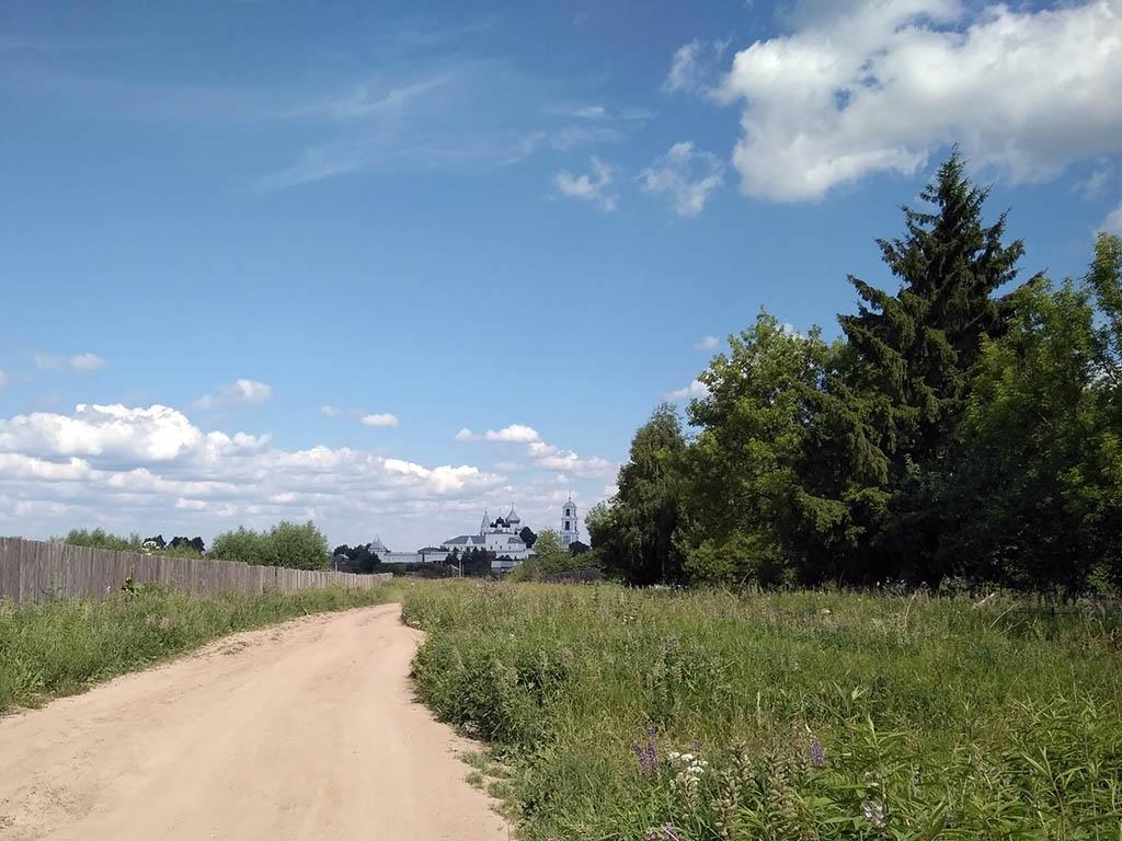 Дорога между спорново и бектышево