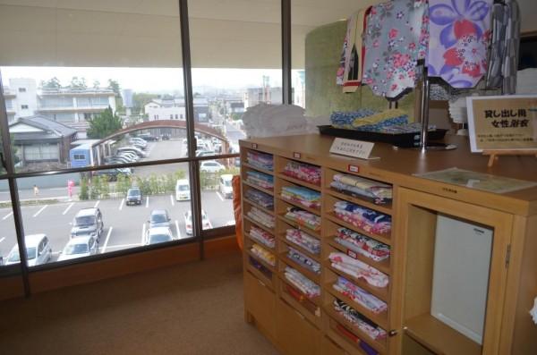 Kimono in Hotel