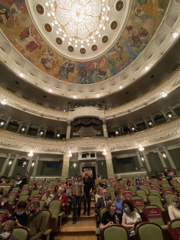 «Идиот» на новой сцене Большого театра