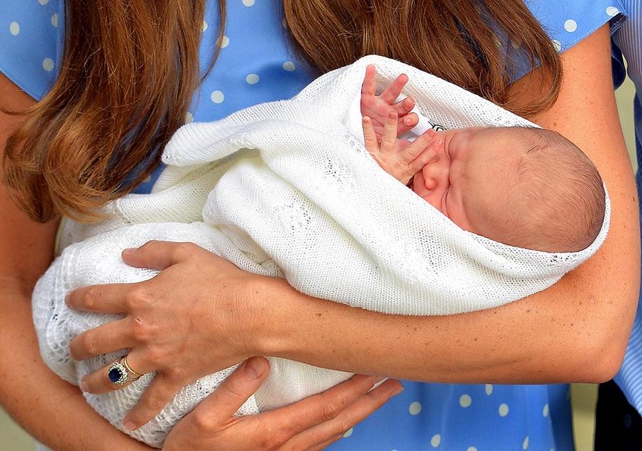Шаль для новорожденного принца 003