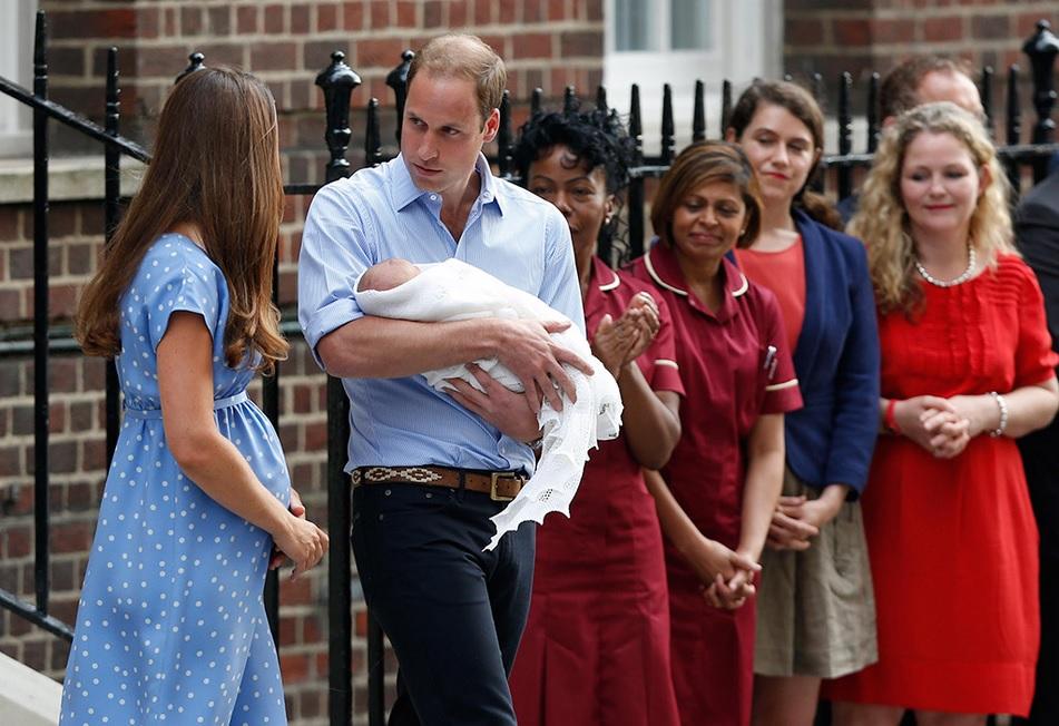 Шаль для новорожденного принца 004