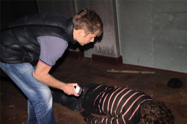 Гончаренко в доме профсоюзов