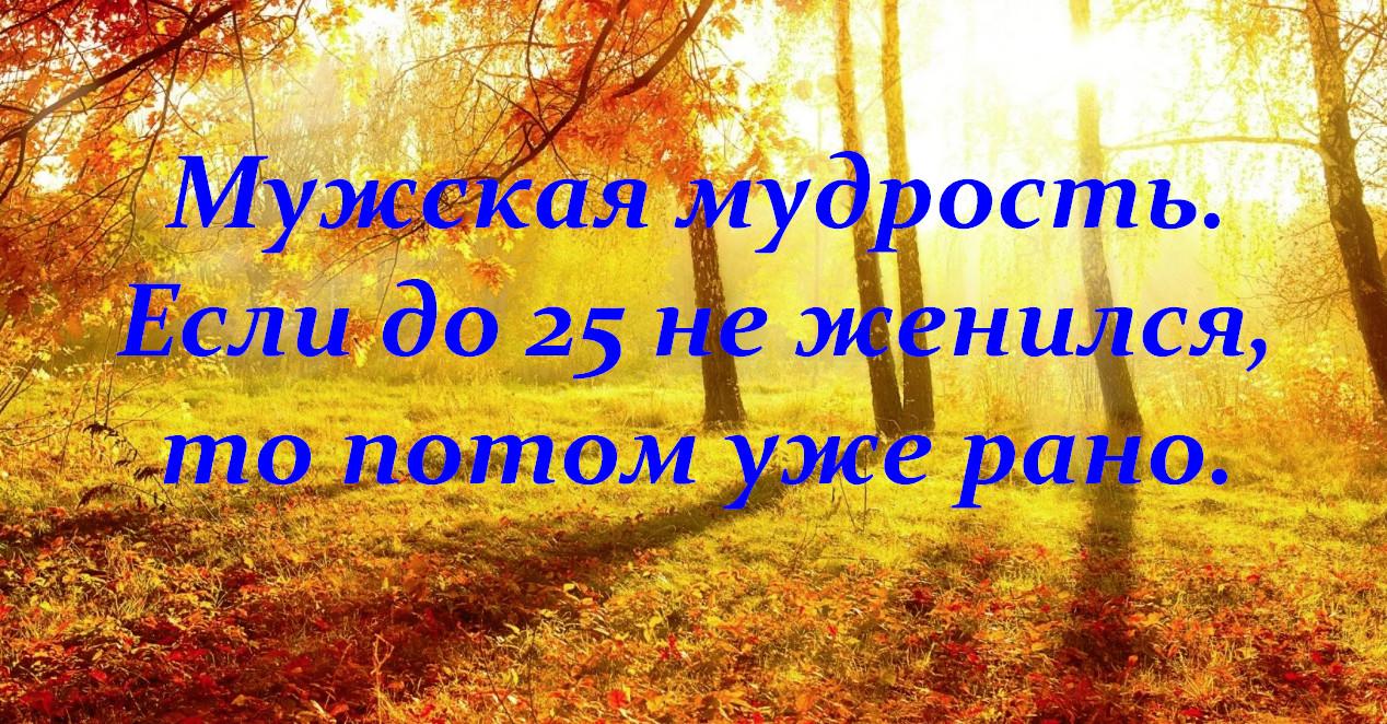 Осенний юмор