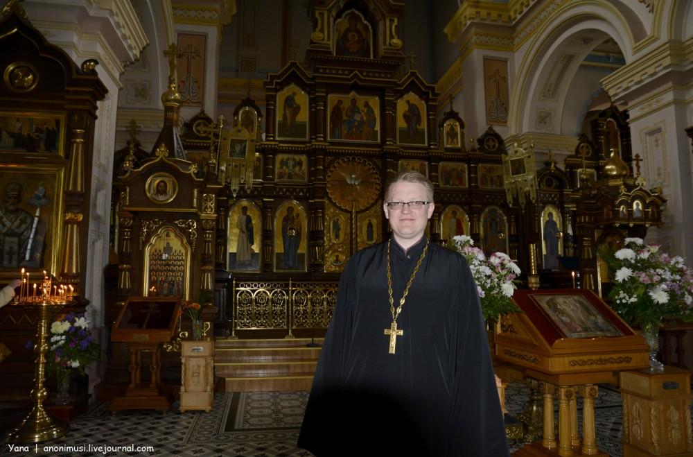 Свято-Покровский Кафедральный собор в Гродно. Иерей Александр Казакевич