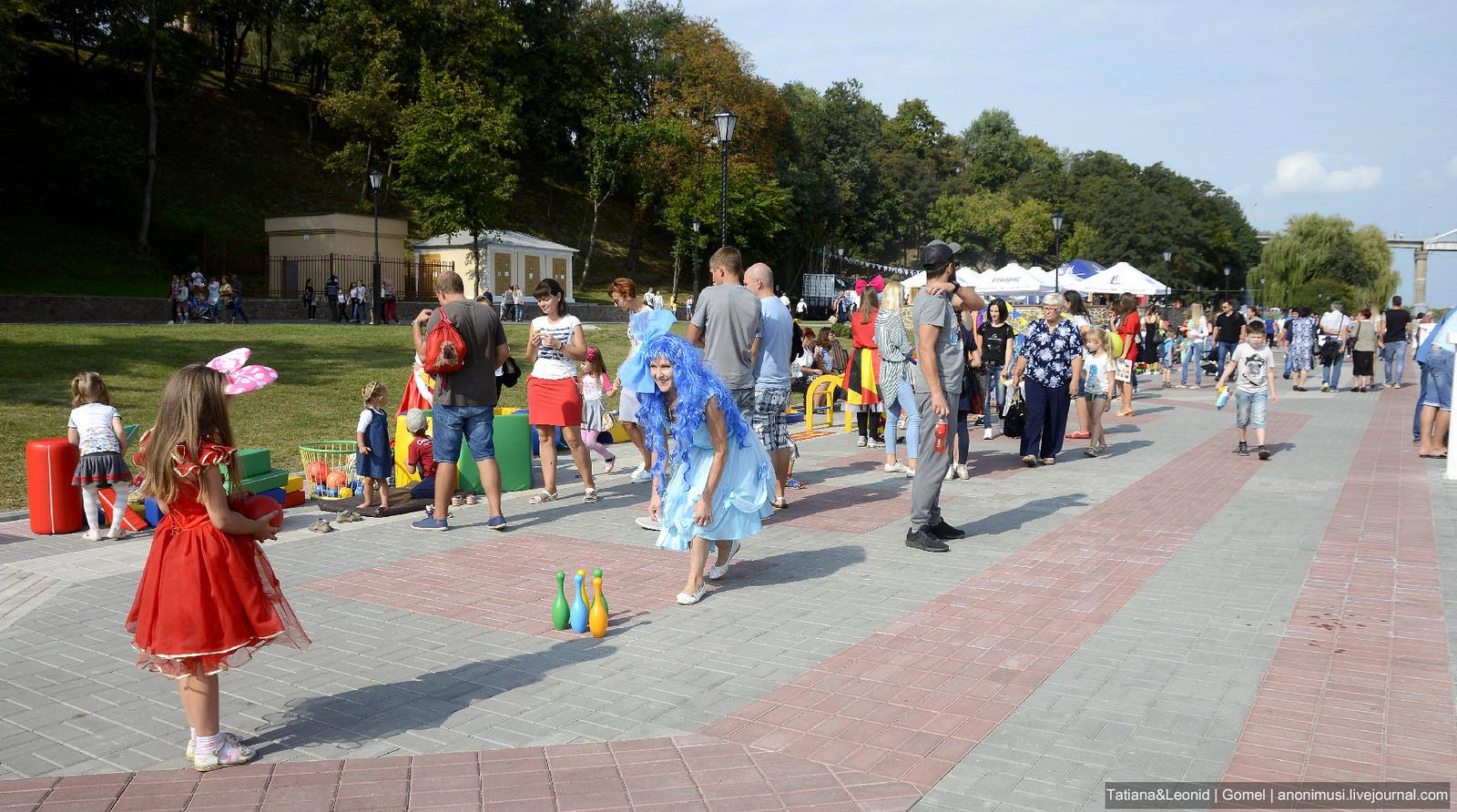 День города для детей. Гомель