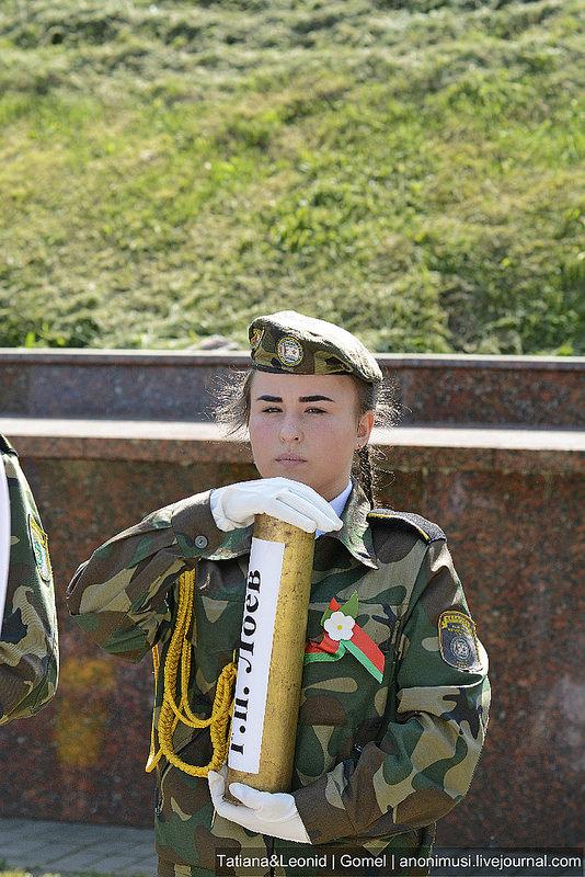 Акция Беларусь - земля славы ратной. Гомель