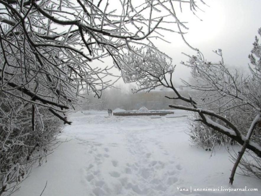 Зима в Перми