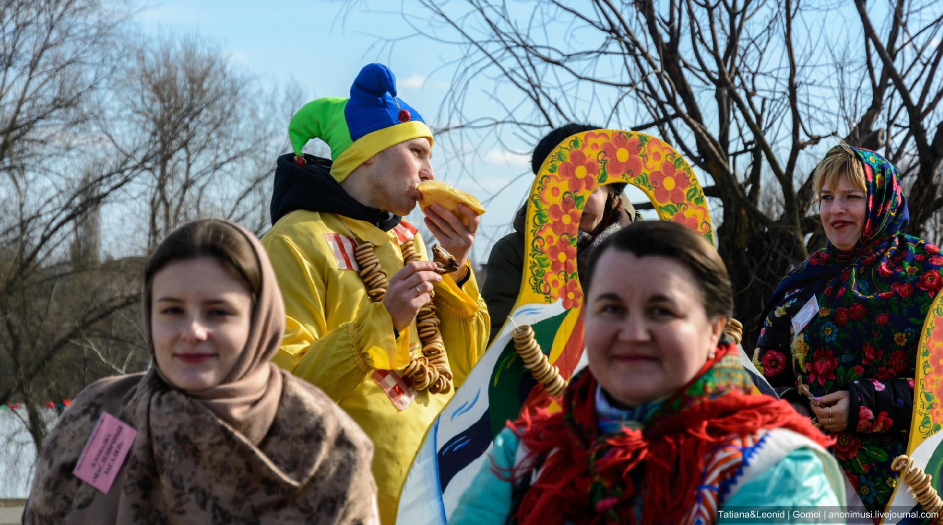 Широкая Масленица-2019 на Любенском озере. Гомель