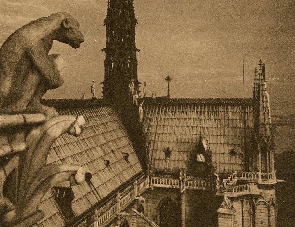 Поджог, диверсия, месть? Собор Парижской Богоматери (Нотр-Дам-де-Пари)