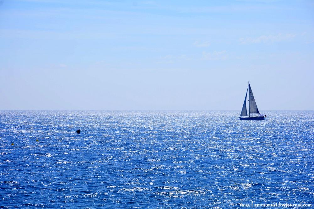 Утро на Средиземном море