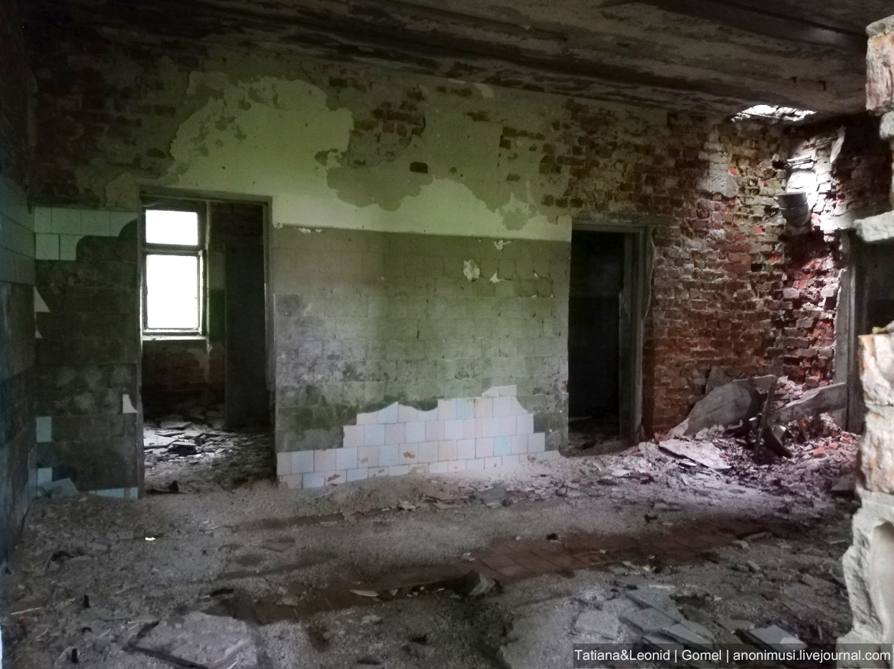 Зона отчуждения . Усадьба Герардов в Демьянках, Добрушский район