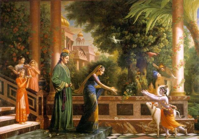 Иллюстрация к «Последней поэме» Р.Тагора