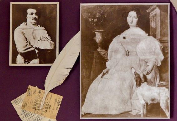 Фото из архива музея Оноре де Бальзака в селе Верховня.