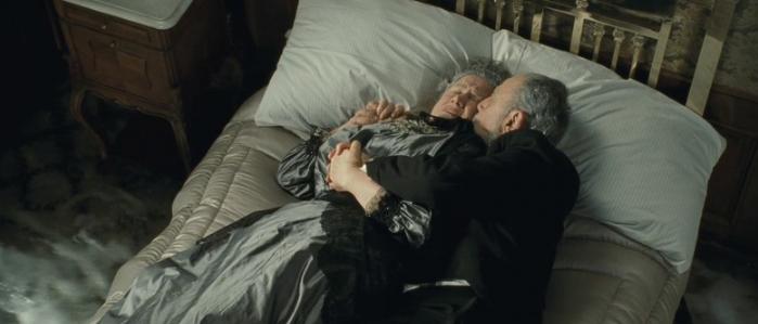 Так показаны Исидор и Ида Штраус в фильме «Титаник»