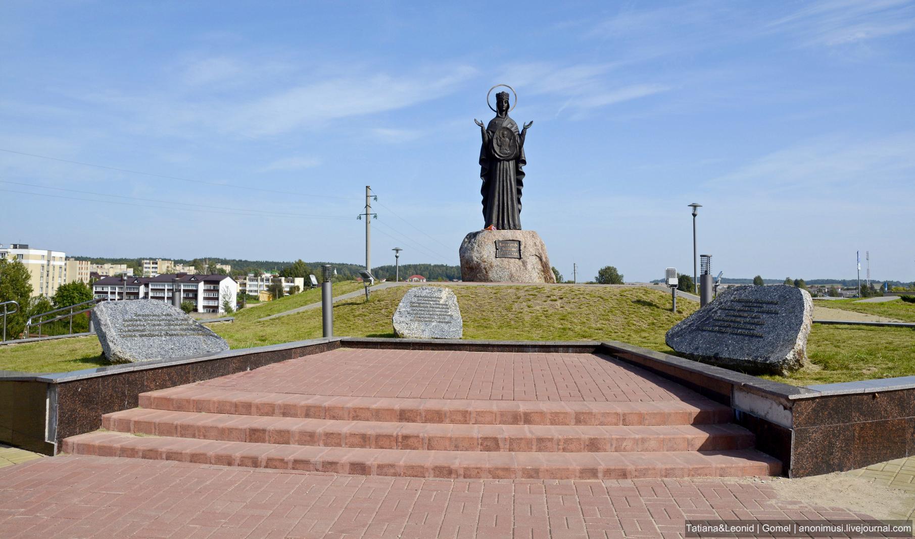 Скульптура Божией Матери Знамение Логойская
