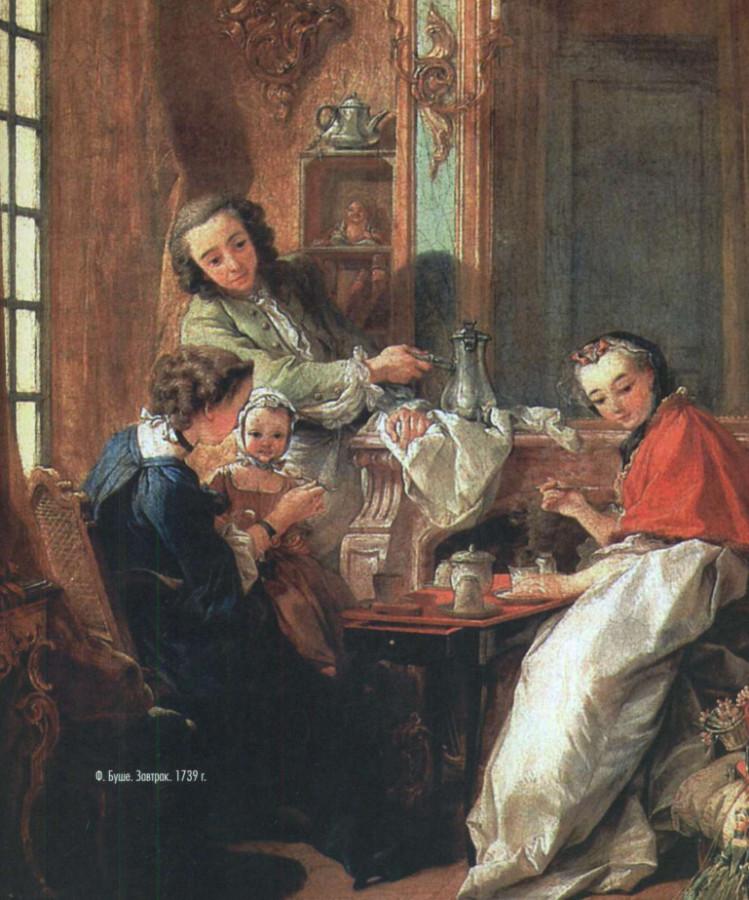Ф. Буше. Завтрак. 1739 год