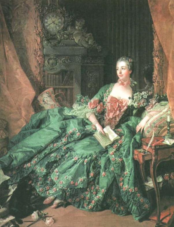 Ф. Буше. Мадам Помпадур. 1757 г.
