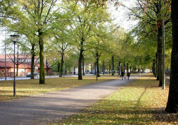 Швеция. Стокгольм. Район Норрмальм