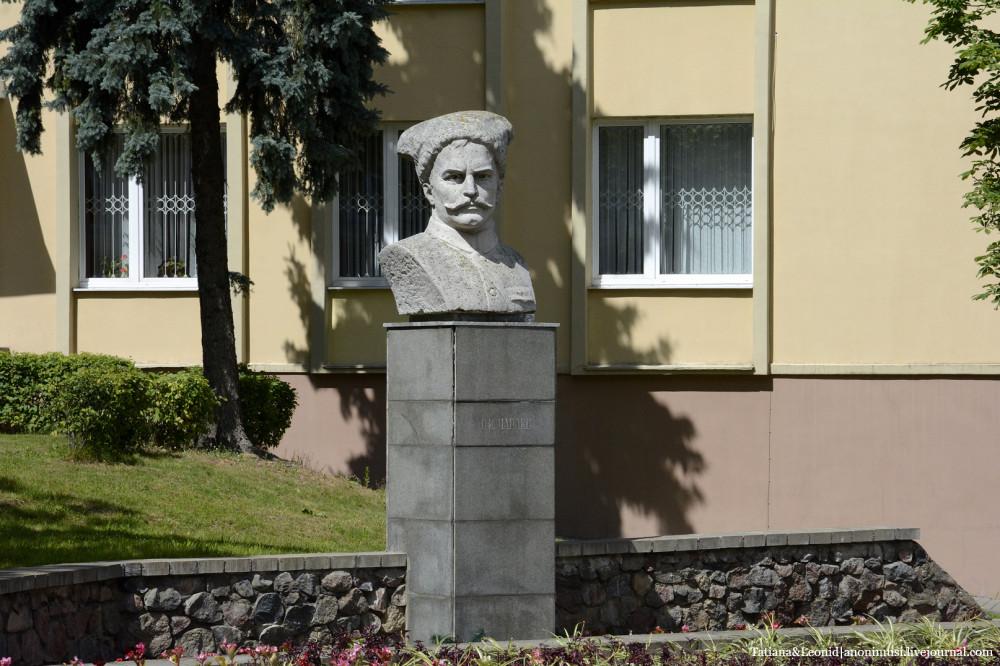 Памятник В.И.Чапаеву.Гродно