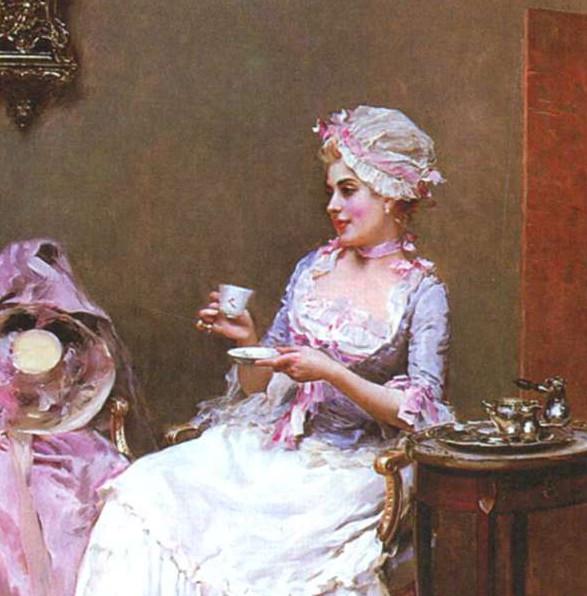 Р. Мадрозо-и-Гаррета. Горячий шоколад. Конец XIX - начало XX в.