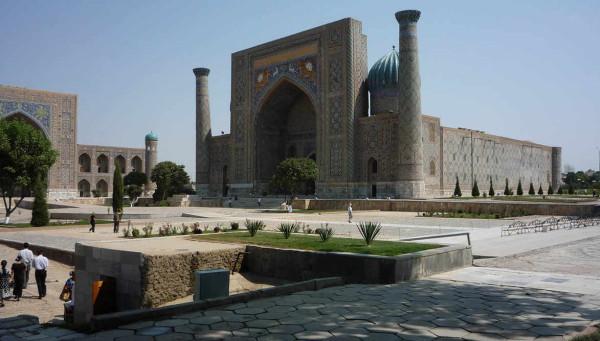 Самарканд площадь Регистан