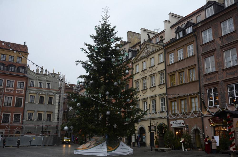 Ёлка в Варшаве