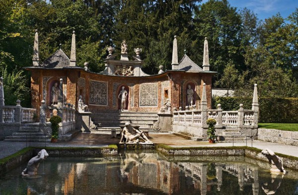 дворец Хельбрунн, Зальцбург 32