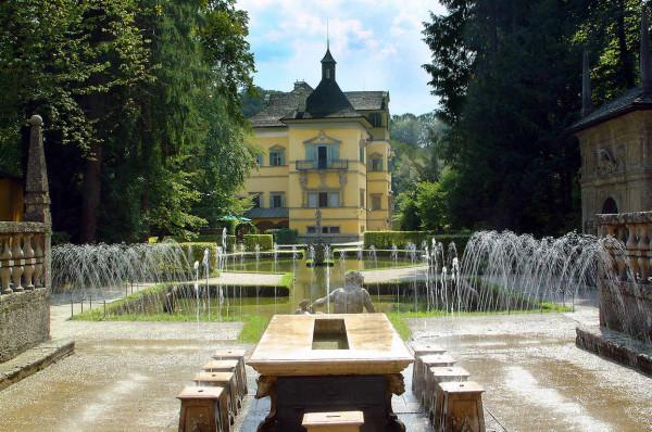 дворец Хельбрунн, Зальцбург 22
