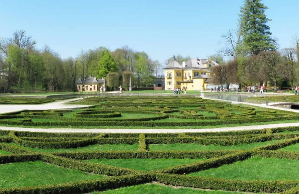 дворец Хельбрунн, Зальцбург 3