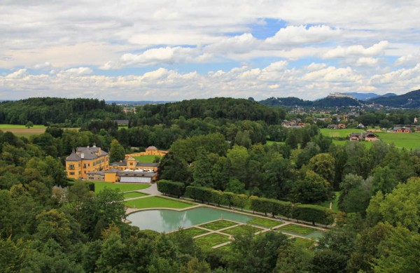 дворец Хельбрунн, Зальцбург