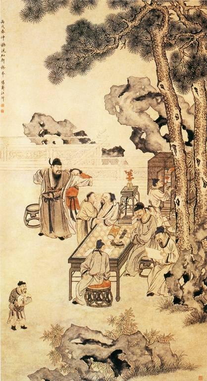 Китайская древняя живопись