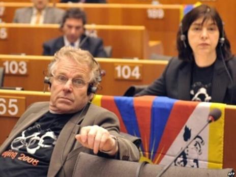 Кон-Бендит в Европарламенте
