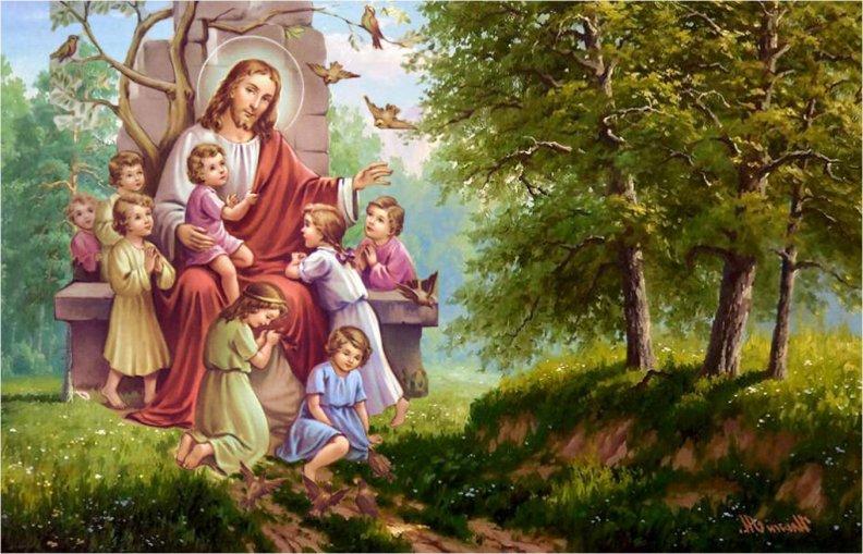 Иисус христос картинки для детей