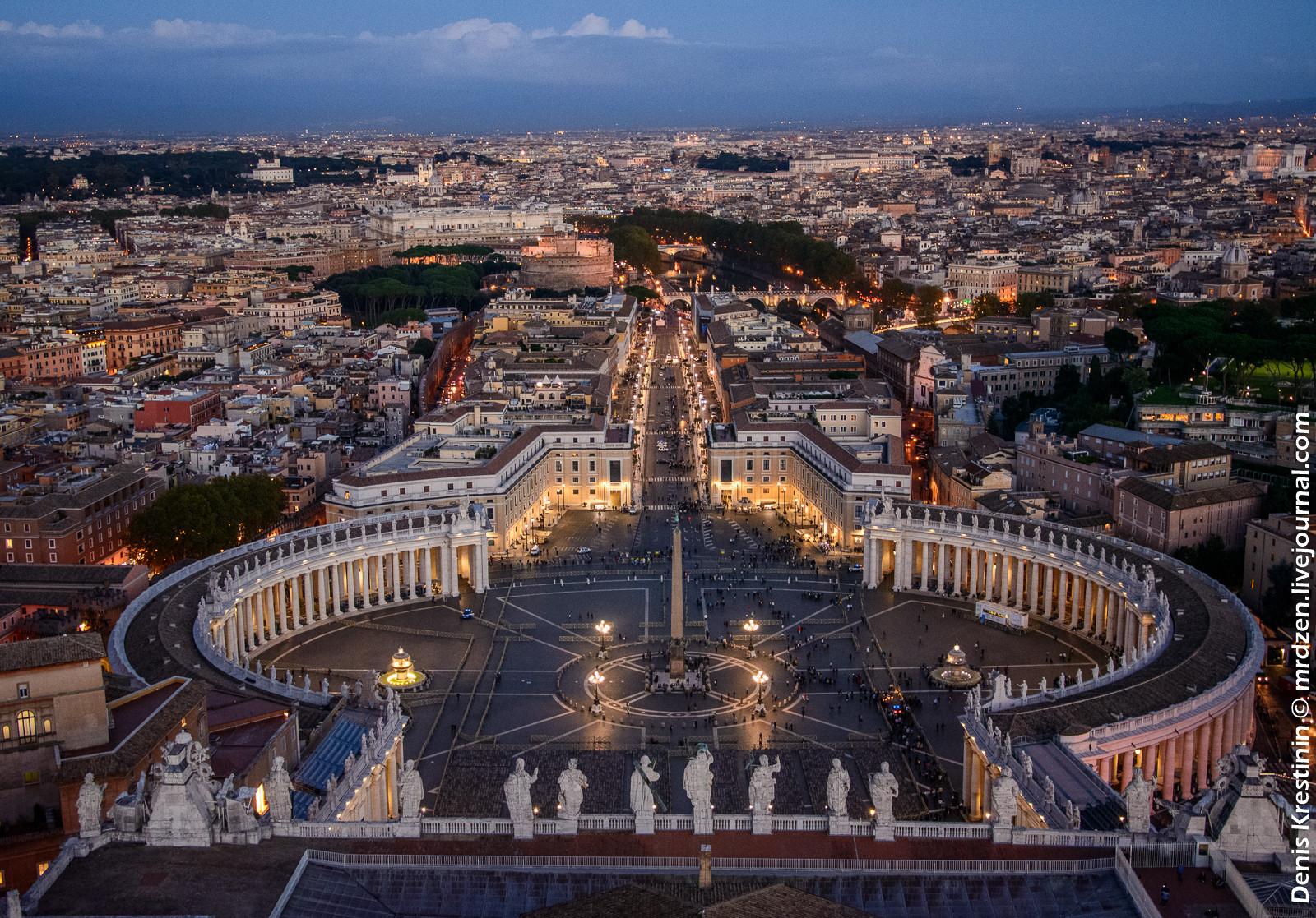 Ватикан .Резиденция папы римского