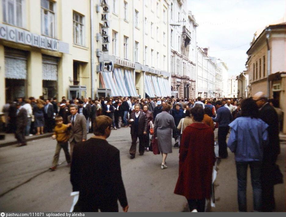 Столешников переулок 60-70 годы