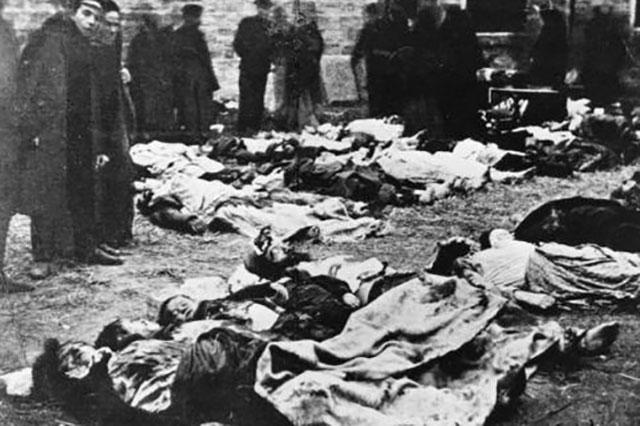 жертвы погрома в Кишиневе