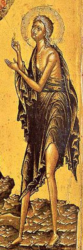 Мария Египетская в пустыне