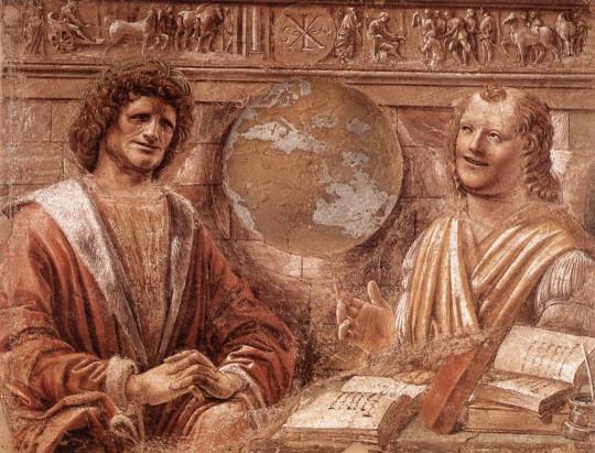 Плачущий Гераклит и смеющийся Демокрит