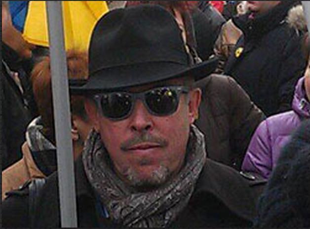 Макаревич на марше мира