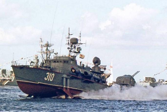 Т-118, Балтийск, день ВМФ 1987г.