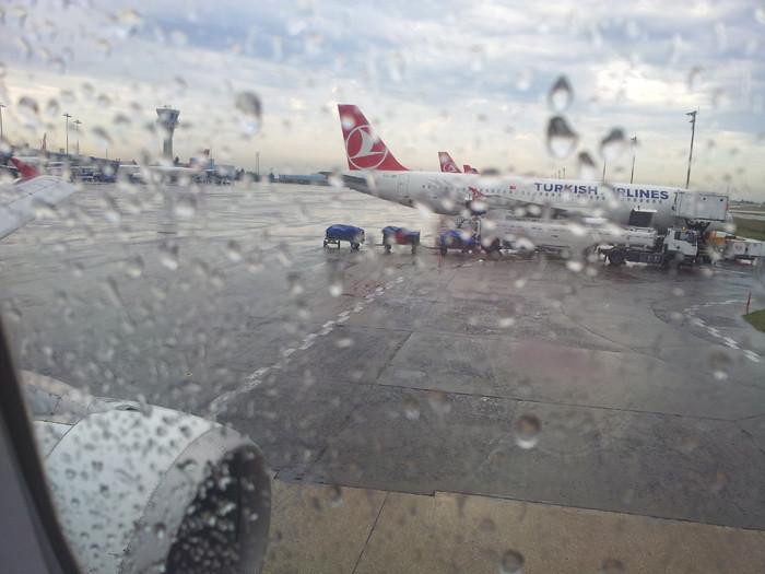 Istambul aero Dojd
