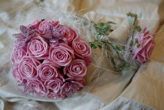 Букет на 10 лет свадьбы, цветы