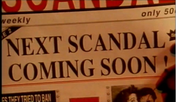 Next scandal coming soon!
