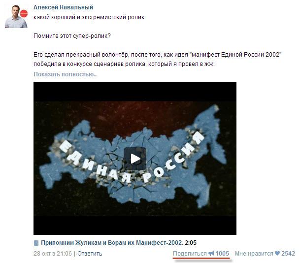 Экстремизм Навального