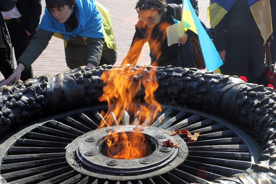 Вечный огонь в Одессе