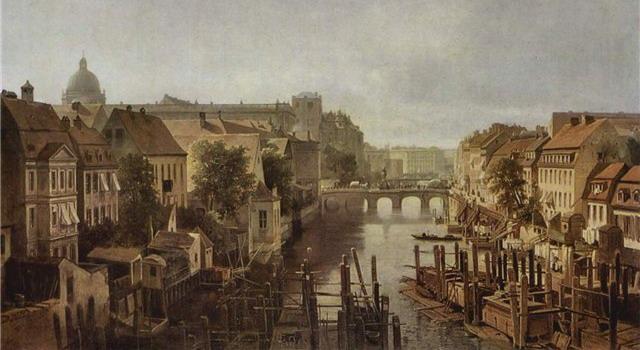 Берлин первой половины XIX века