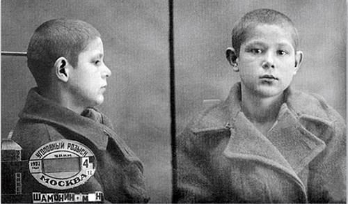Миша Самонин, расстрелян в Бутово в возрасте 13 лет