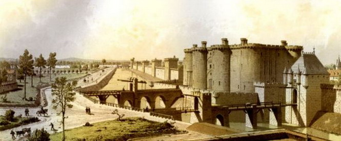 Бастилия, крепость, в которой маркиз де Сад написал «Диалог между священником и умирающим»