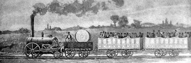 С начала 30-х годов XIX века в Европе разворачивается строительство железных дорог